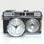 Nostalgic Clock in vintage camera body